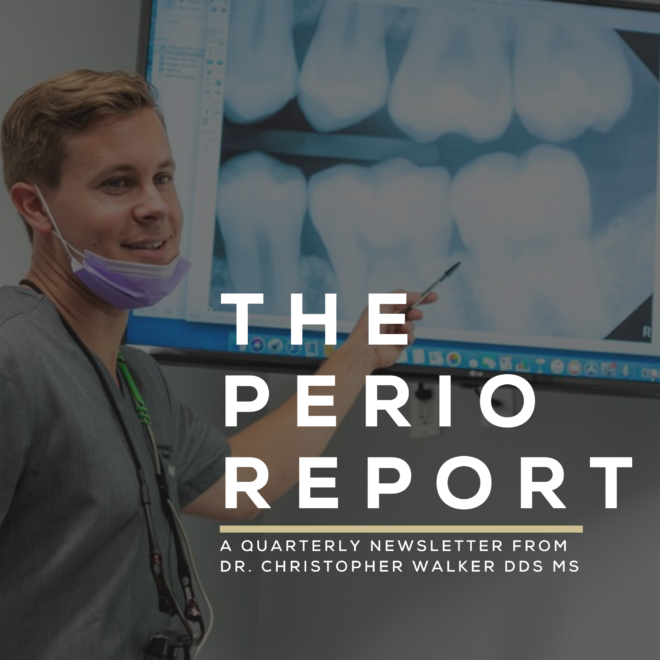 The Perio Report - Incidental CBCT findings by dr. christopher walker